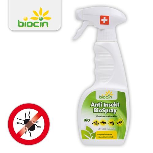 biocin anti insekt bio spray gegen fliegen m cken blattl use m ckenspray 250 ml ebay. Black Bedroom Furniture Sets. Home Design Ideas