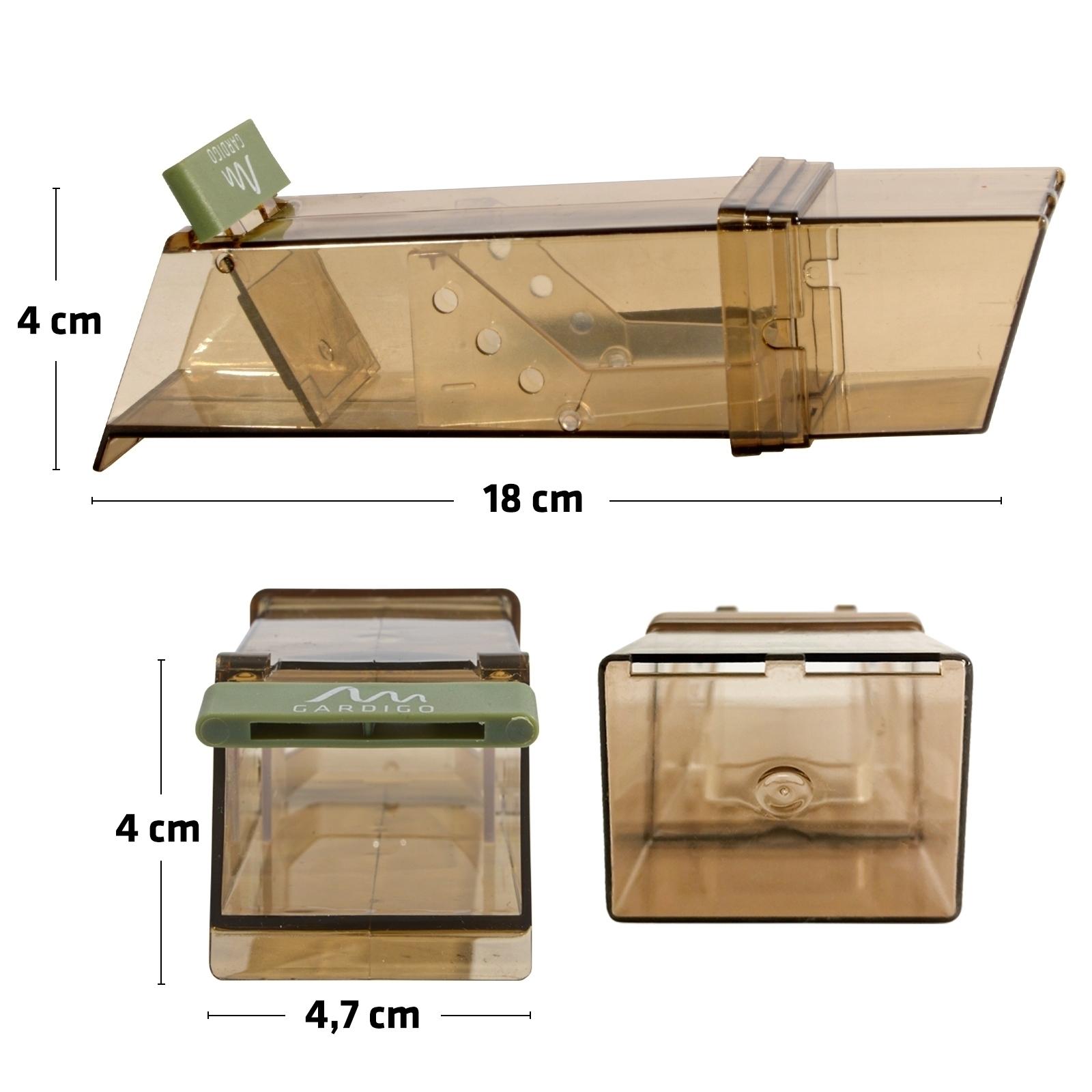 wipp mausefalle 3x lebendfalle m usefalle mausfalle maus falle lebendmausefalle ebay. Black Bedroom Furniture Sets. Home Design Ideas